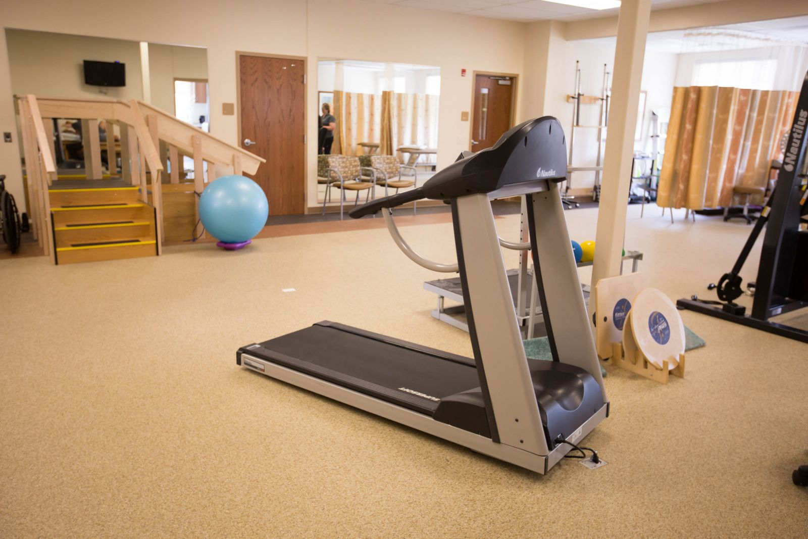 physical therapy room at ICPR