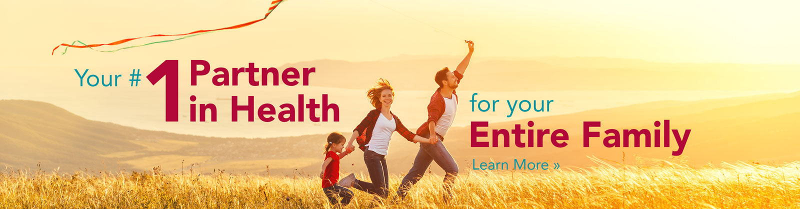 Your #1 Partner in Health banner
